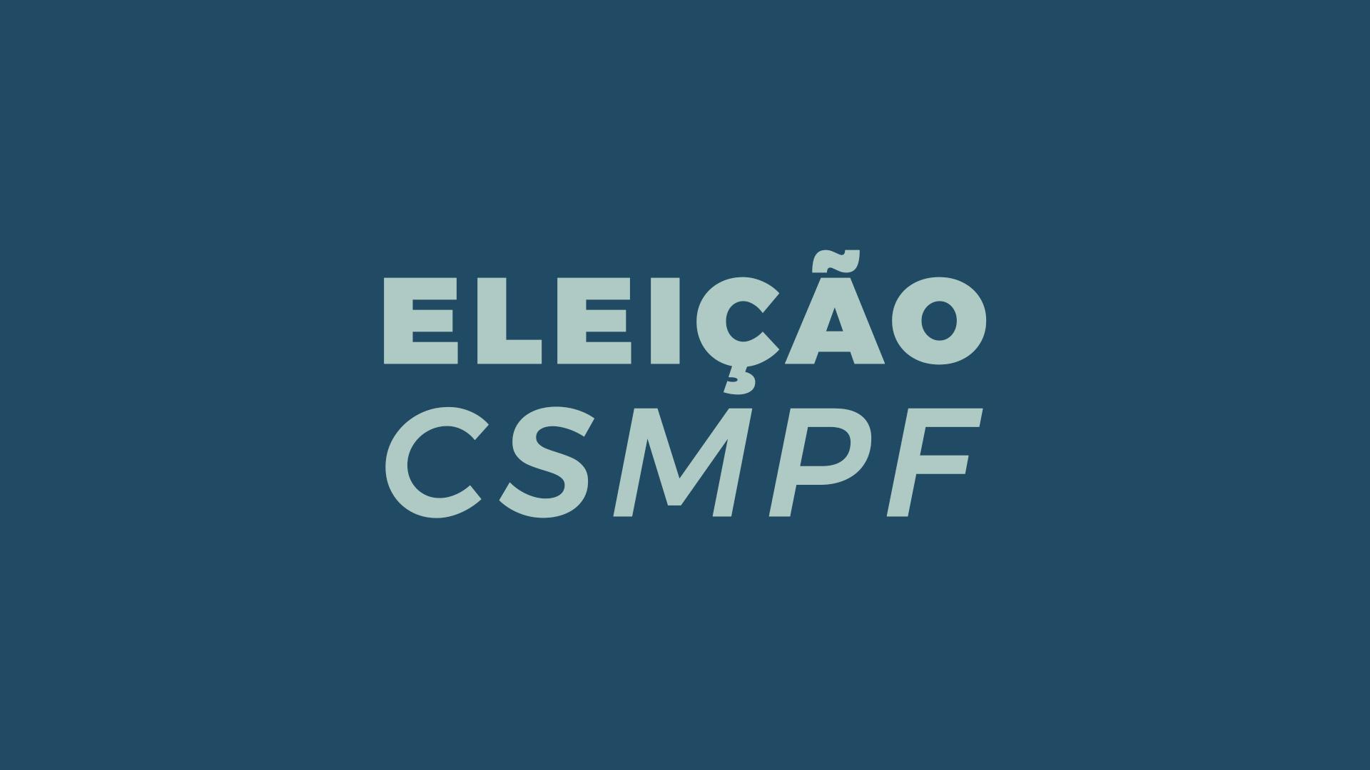 Eleições CSMPF
